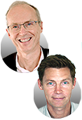 Ronan Lunven President of Pixagility and Philippe Monzein Business Development Director